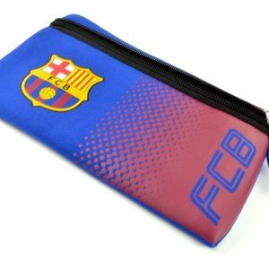 🆕FC Barcelona Large Pencil Case